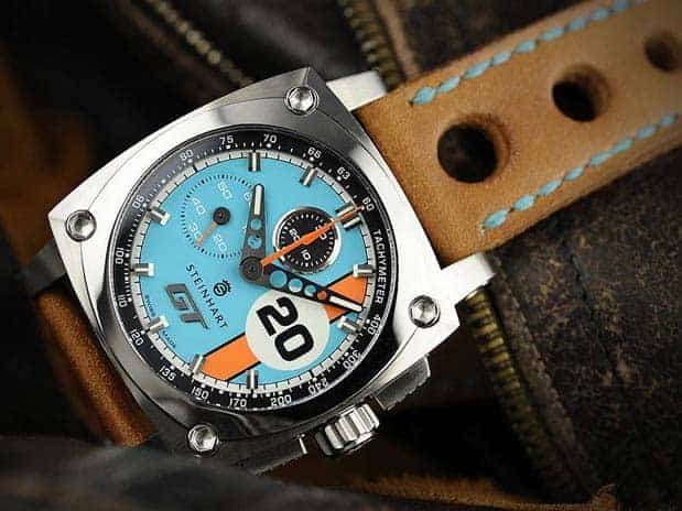 steinhart le mans gt heritage chronograph new. Black Bedroom Furniture Sets. Home Design Ideas