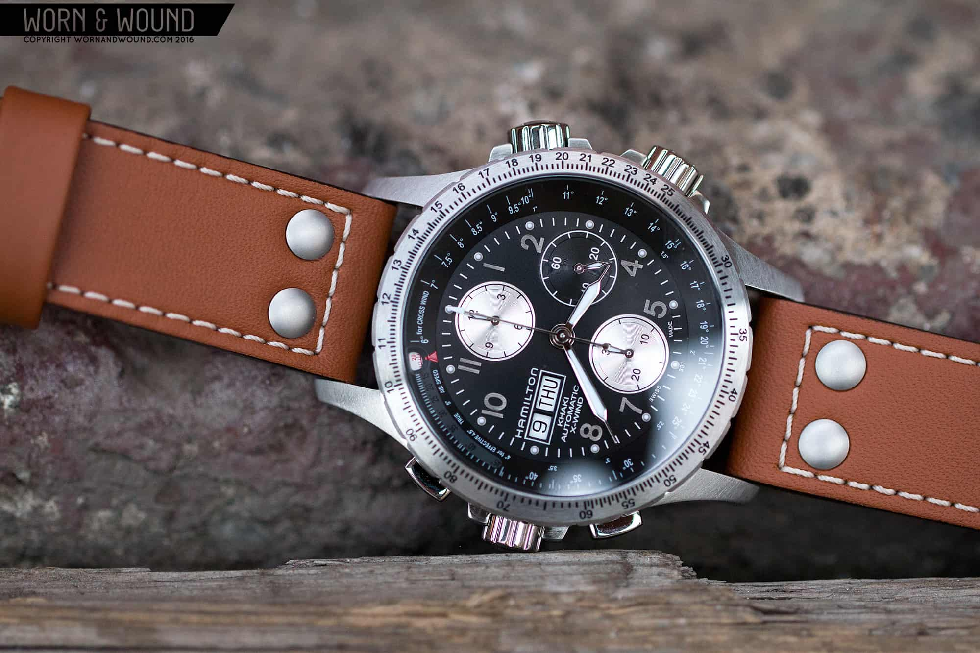 ec5947db36e Hamilton X-Wind Automatic Chronograph Review - Worn   Wound