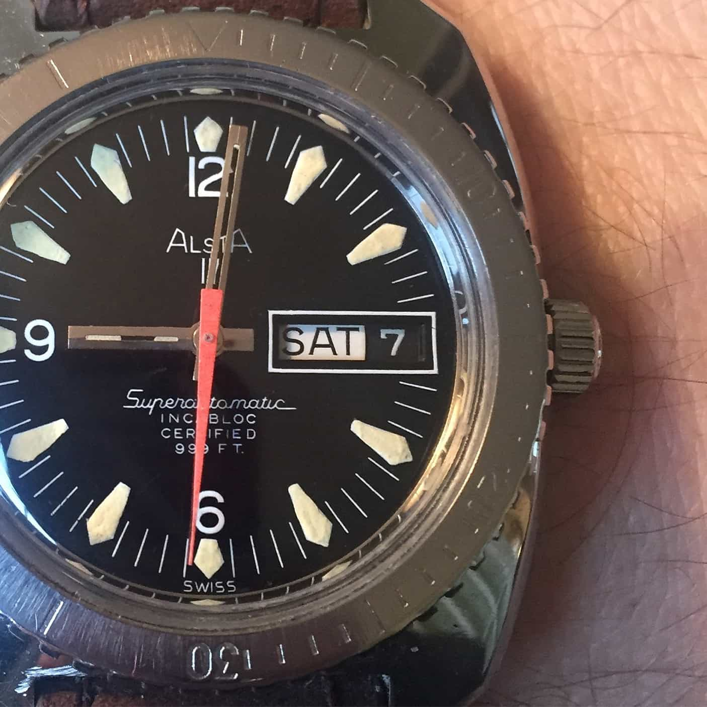 "Affordable Vintage: Deep Dive with the Alsta Nautoscaph ""Jaws"" Diver"