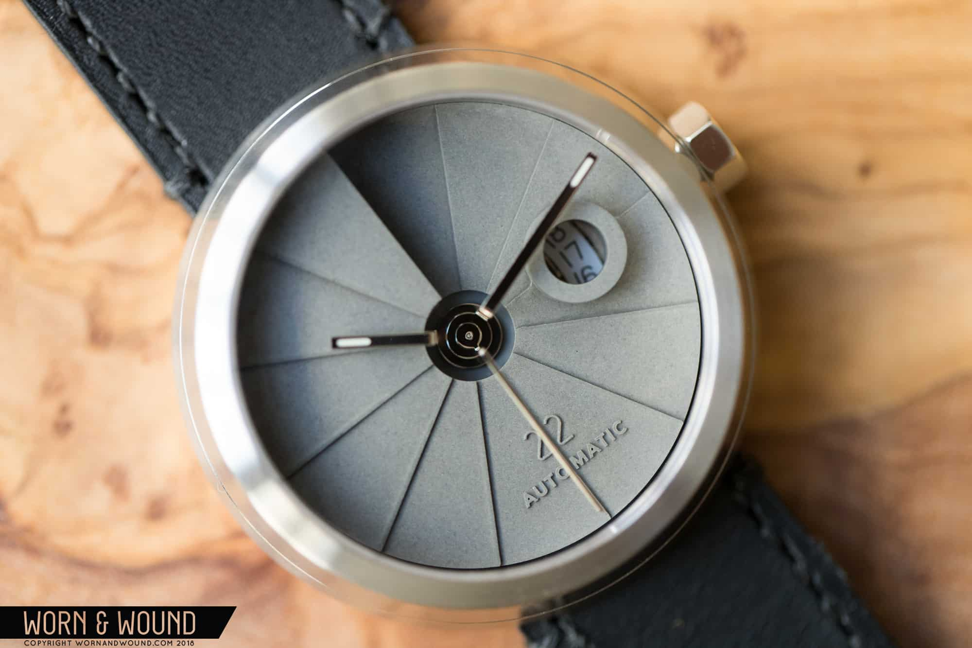 Hands-On with the 4th Dimension Concrete Watch Minimal Edition from 22 Design Studio
