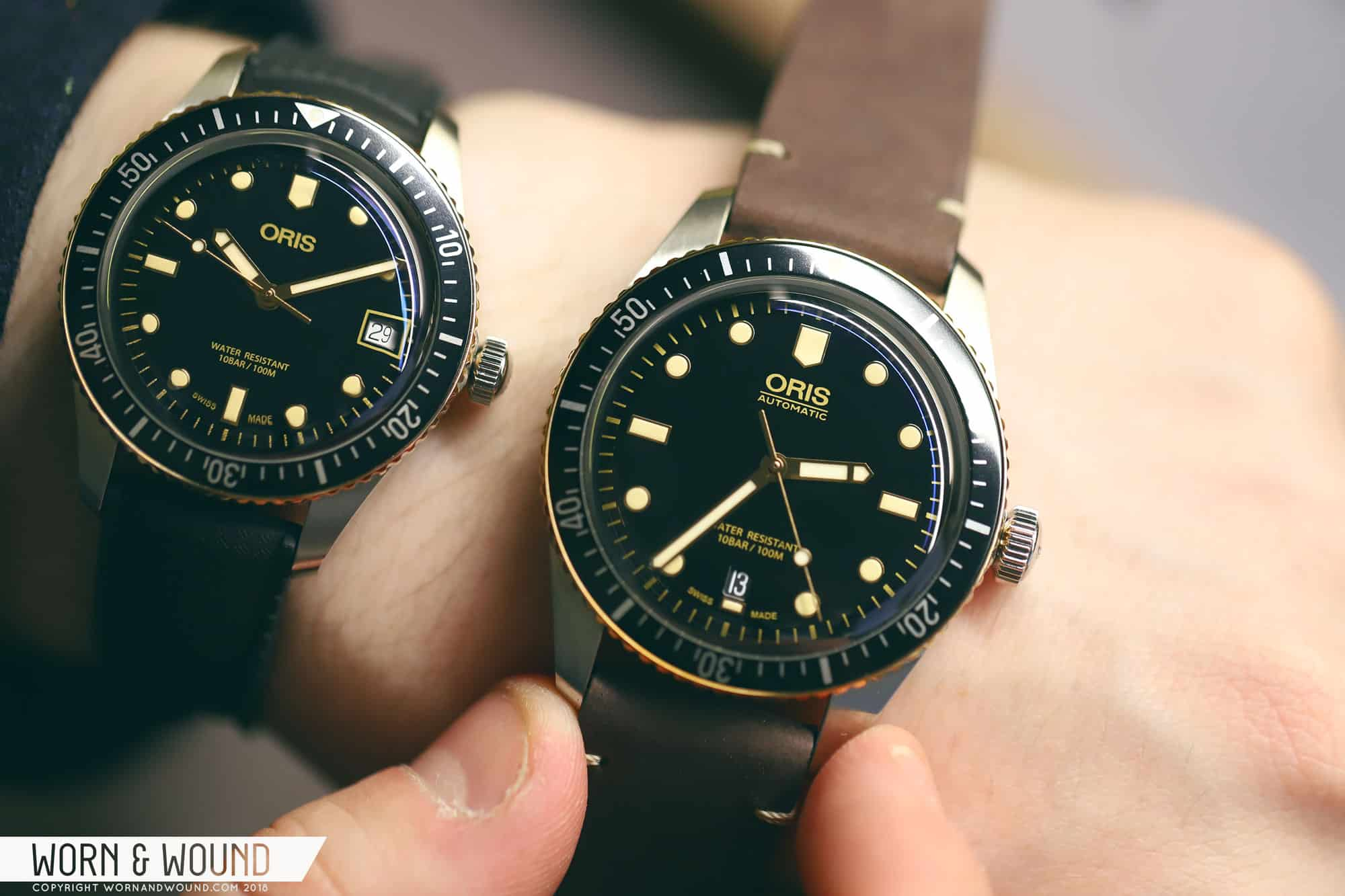 Baselworld 2018: Introducing the Oris Divers Sixty-Five Bronze Bezel in 36 and 40mm
