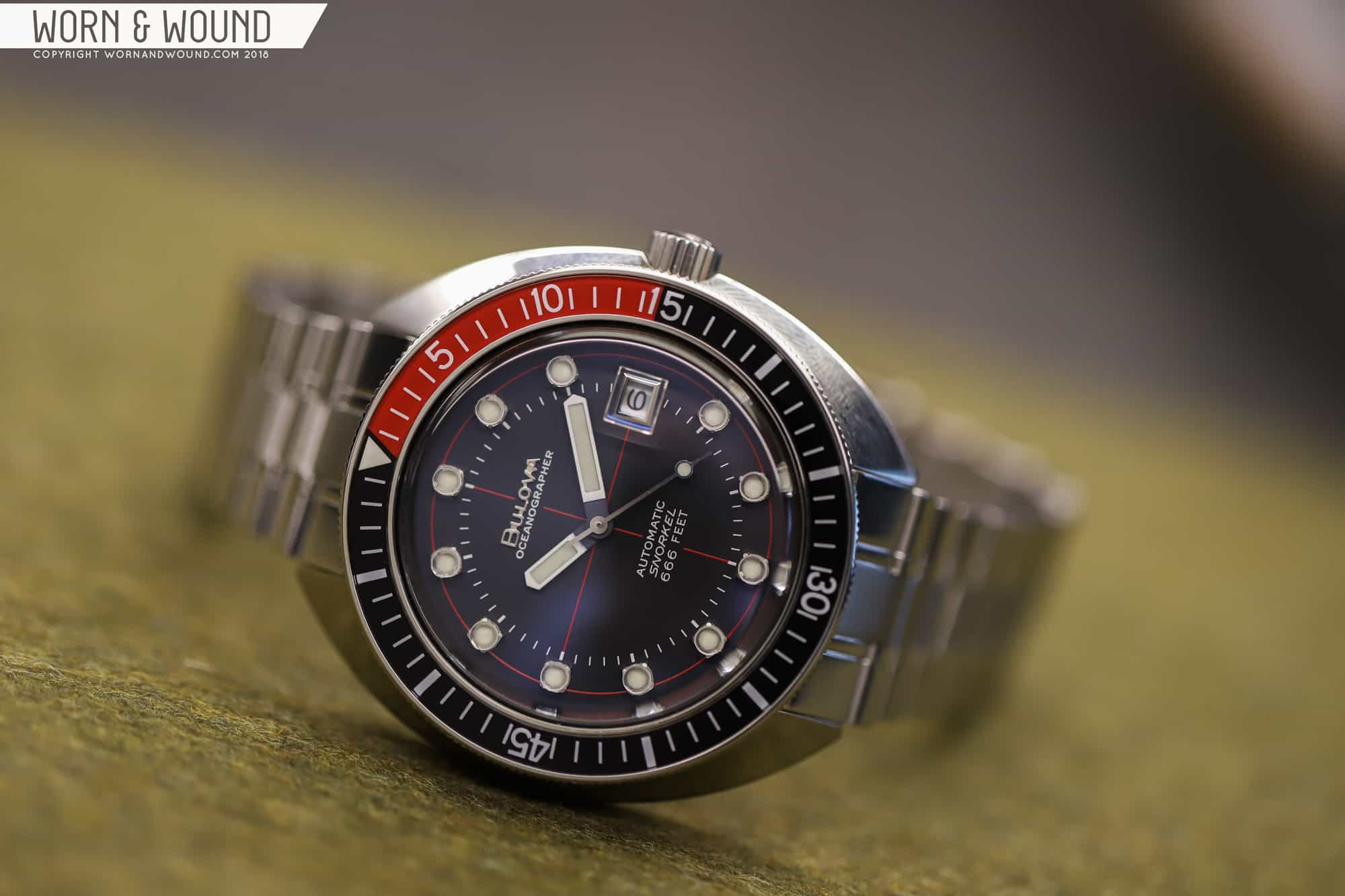First Look: Bulova Archive Series Oceanographer Devil Diver and Oceanographer Devil Diver Limited Edition