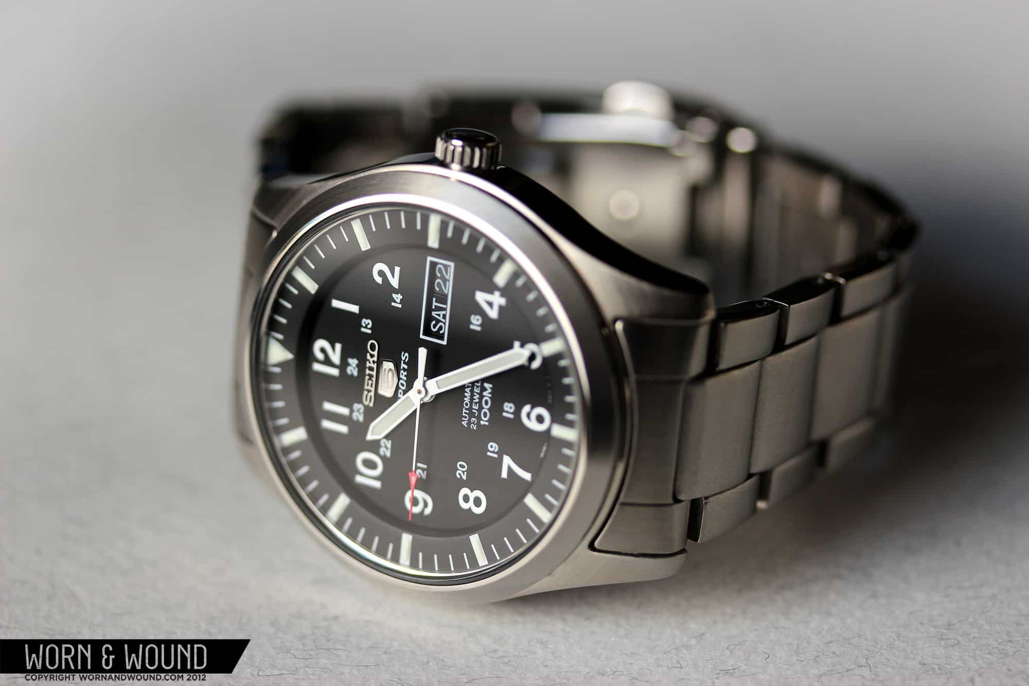 Review: Seiko 5 Sport SNZG13 - Worn & Wound