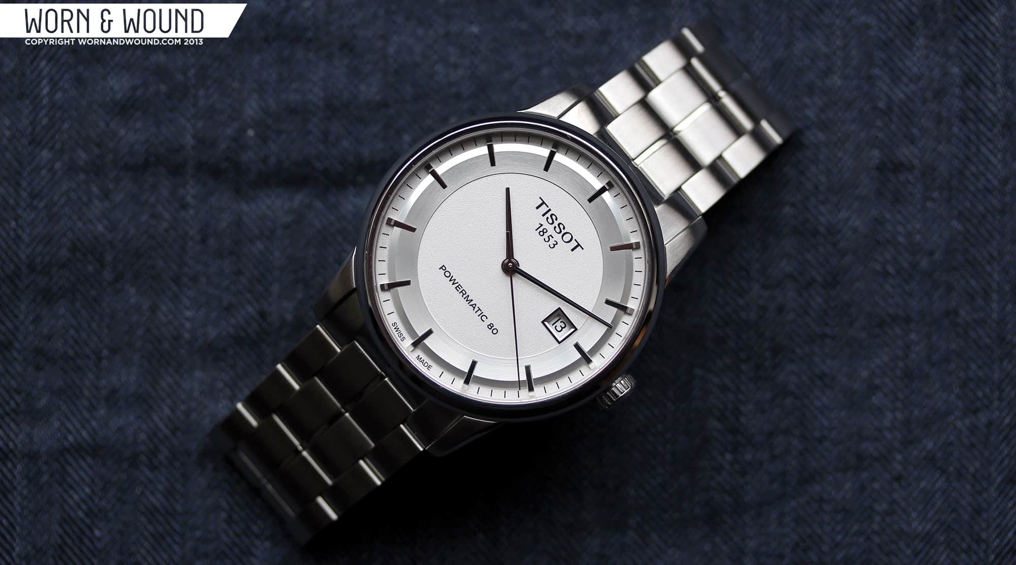 Tissot Luxury Automatic Powermatic 80 Review Worn Wound