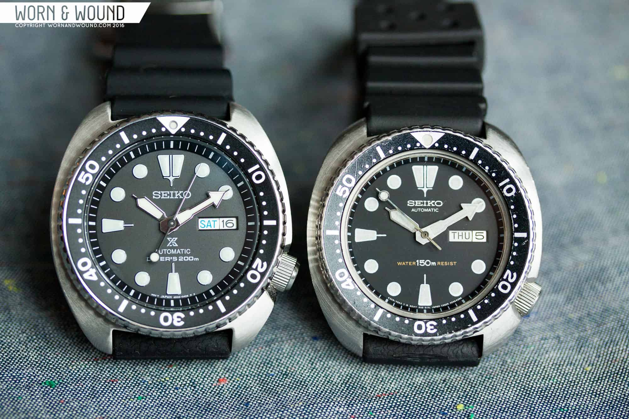 Turtle vs Turtle: Looking at the 6309 and the SRP77Xs - Worn