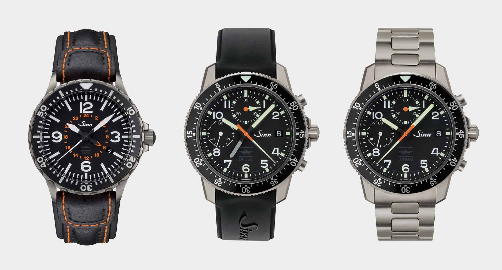 Sinn Goes DIN With Three New Pilot's Watches