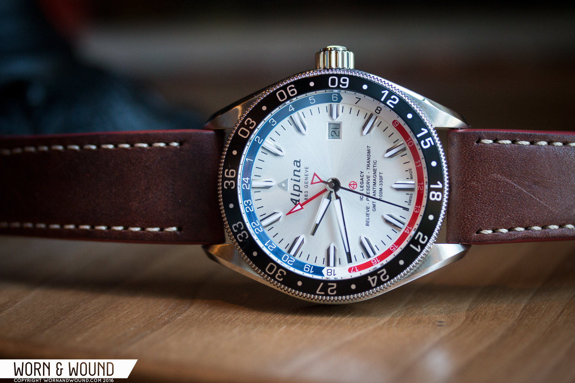 Introducing The Alpina Alpiner Business Timer GMT And New - Alpina gmt