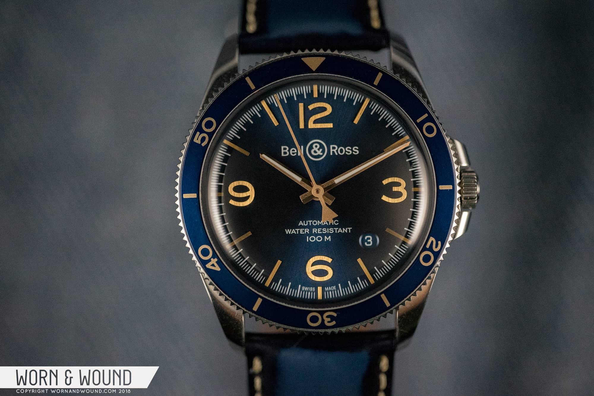 Bell And Ross Watches >> Review Bell Ross Br V2 92 Aeronavale Worn Wound