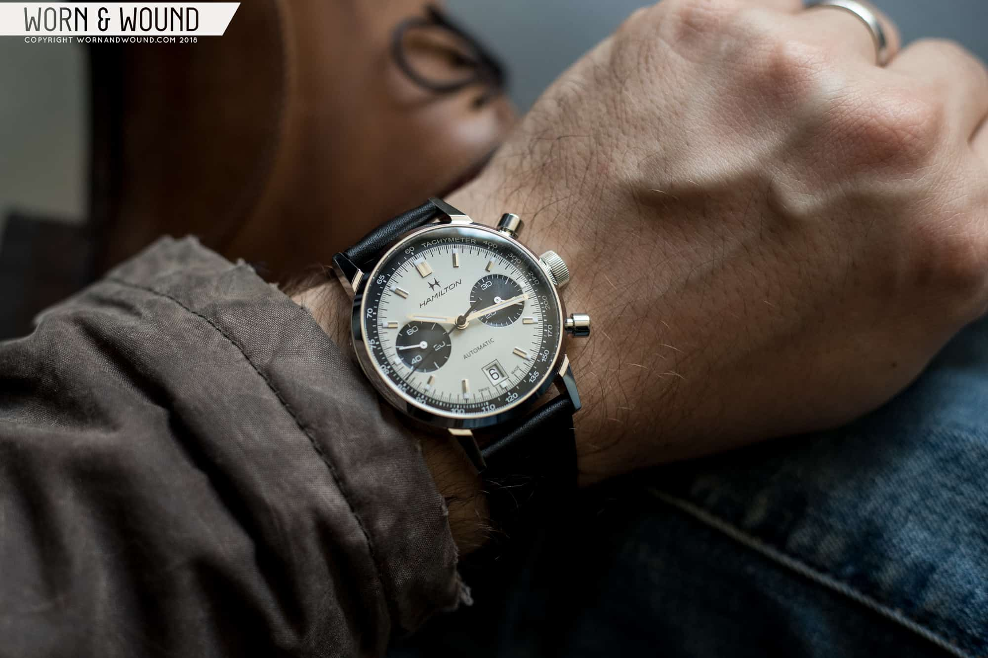 Review Hamilton Intra Matic Auto Chrono Worn Wound