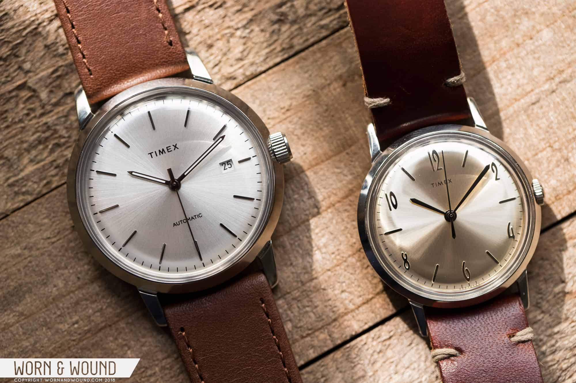 First Look: Timex Marlin Automatic