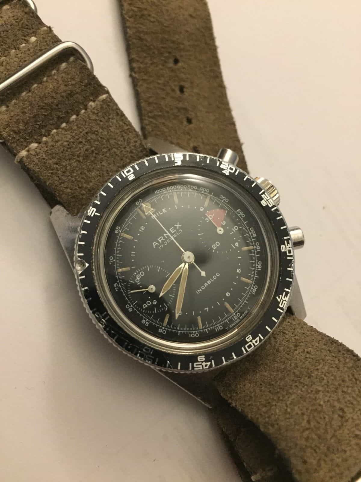 eBay Finds: Longines Conquest, Arnex Dive Chronograph, and More