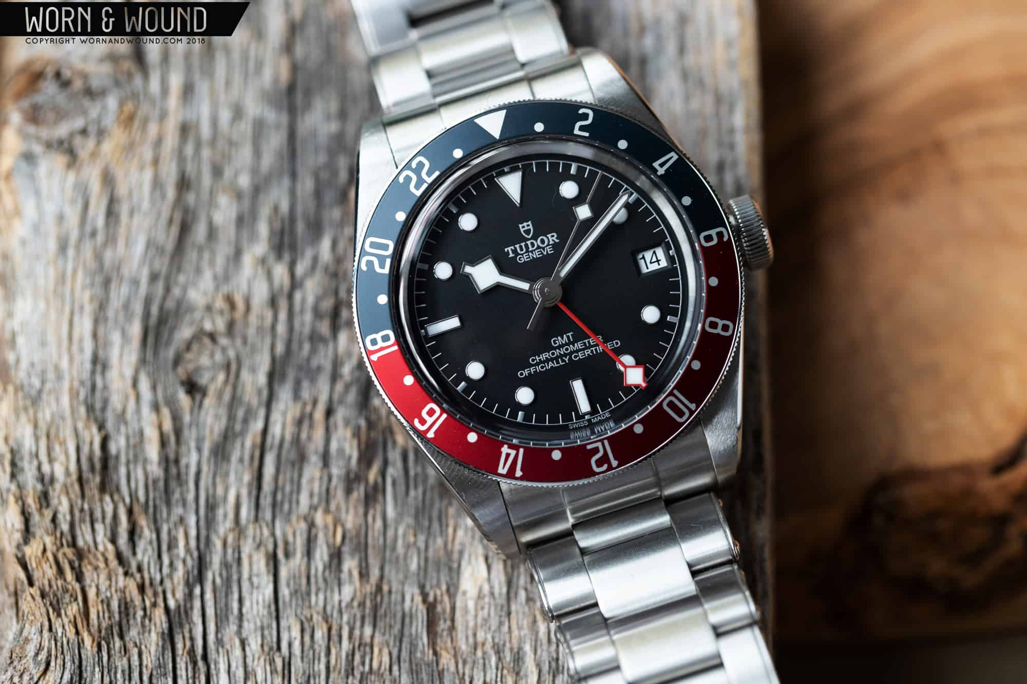 Review Tudor Black Bay Gmt Worn Wound