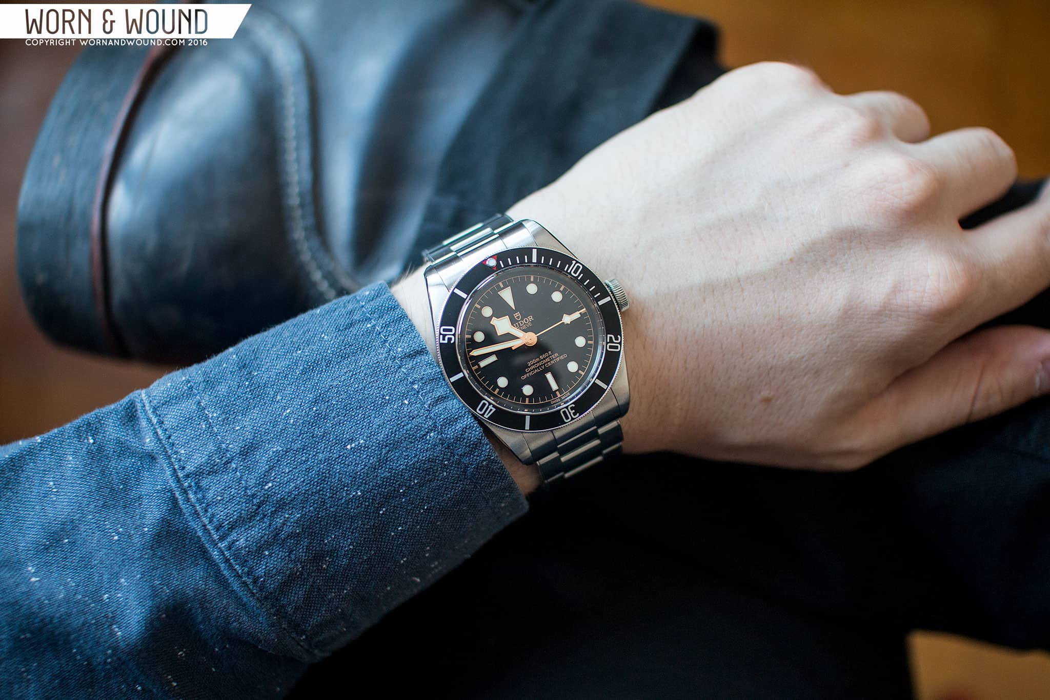 Review Tudor Black Bay Fifty Eight Worn Wound