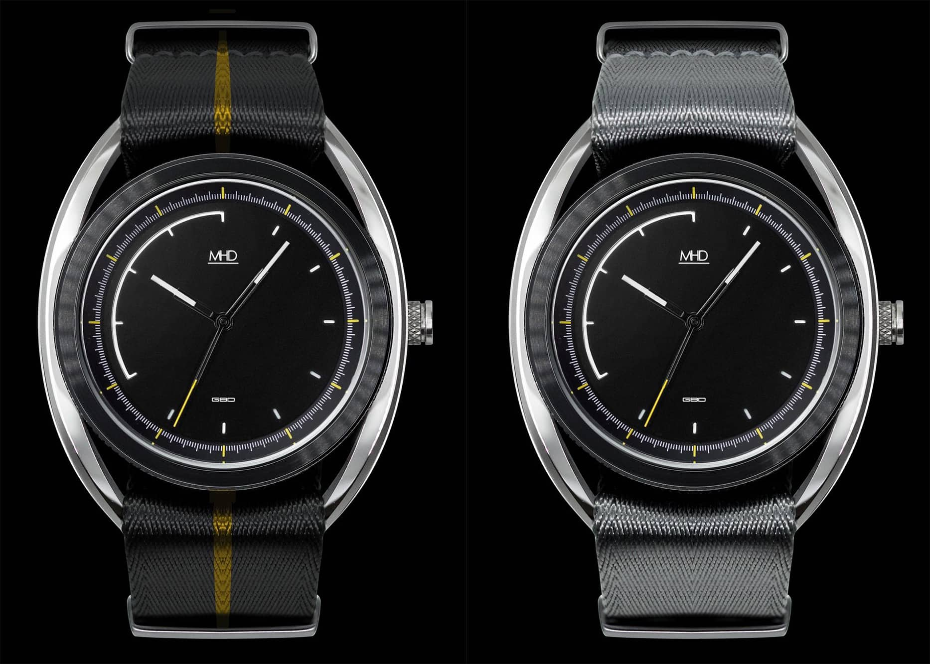 Introducing the MHD SA2, the Latest Automotive-Inspired Watch from Matthew Humphries