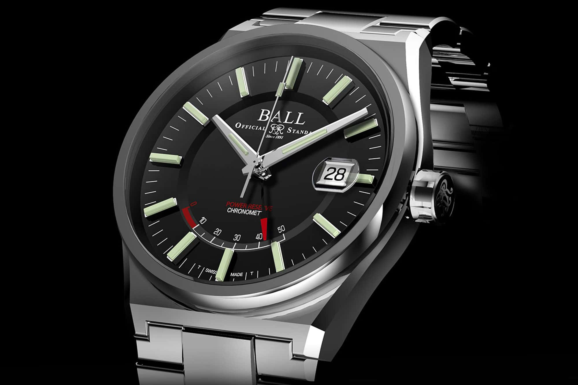 Introducing the Ball Roadmaster Icebreaker in 904L Steel