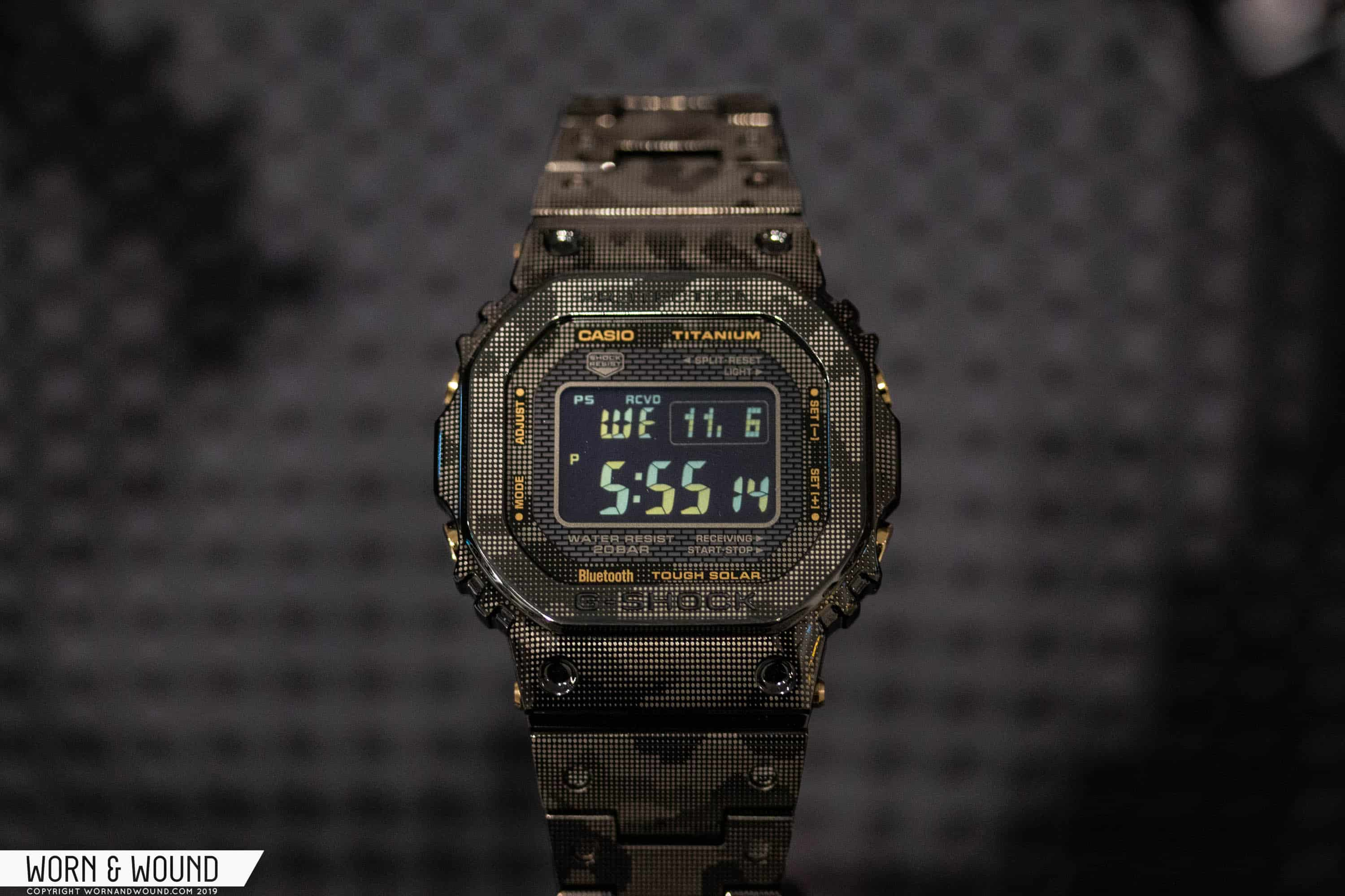 Casio G Shock GMWB5000TCM 1 1 - First Look at Two Limited Edition G-shocks in a Unique Laser...