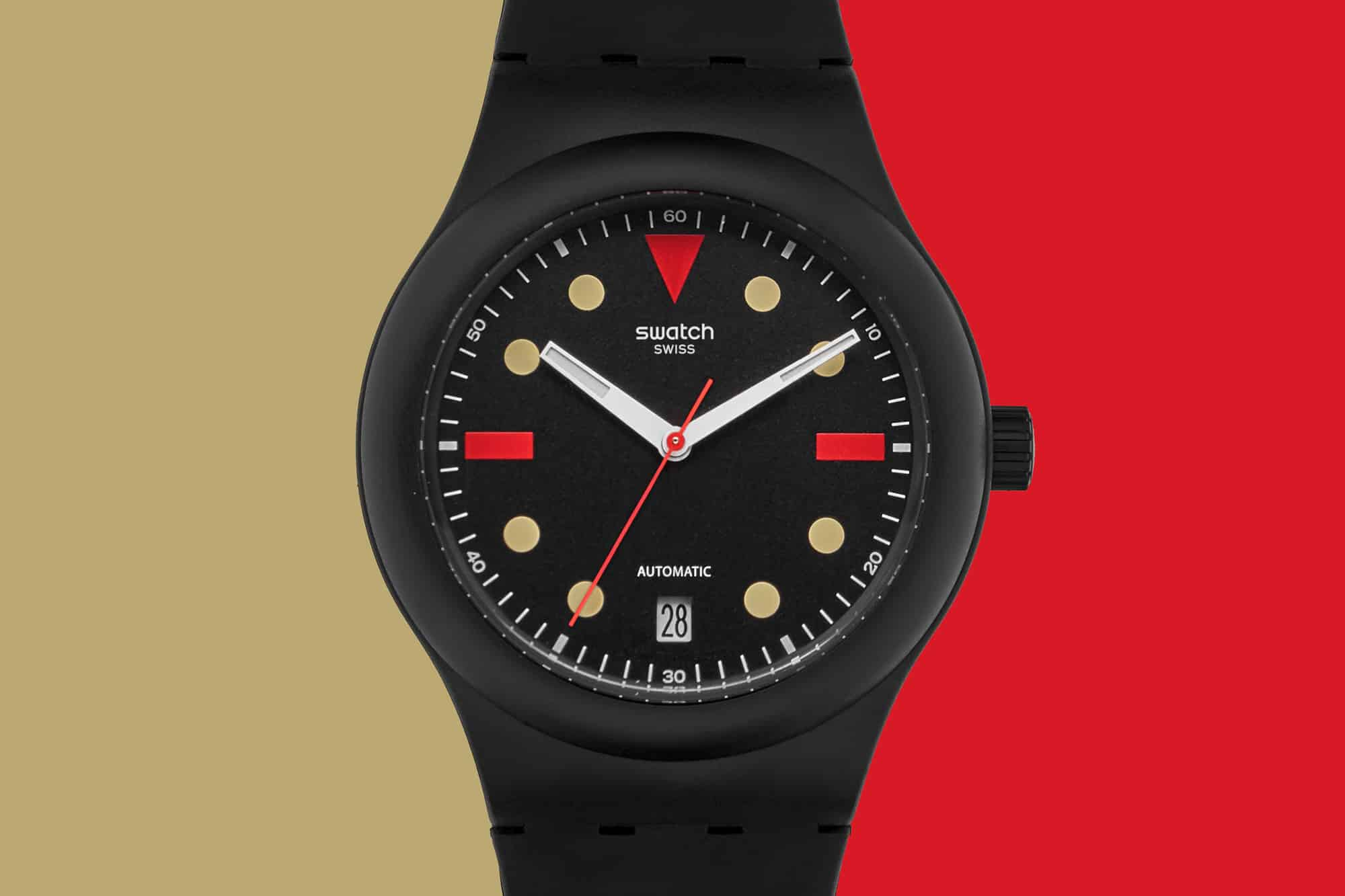 Introducing the Swatch Sistem51 for Hodinkee Generation 1986, Dropping Later Today