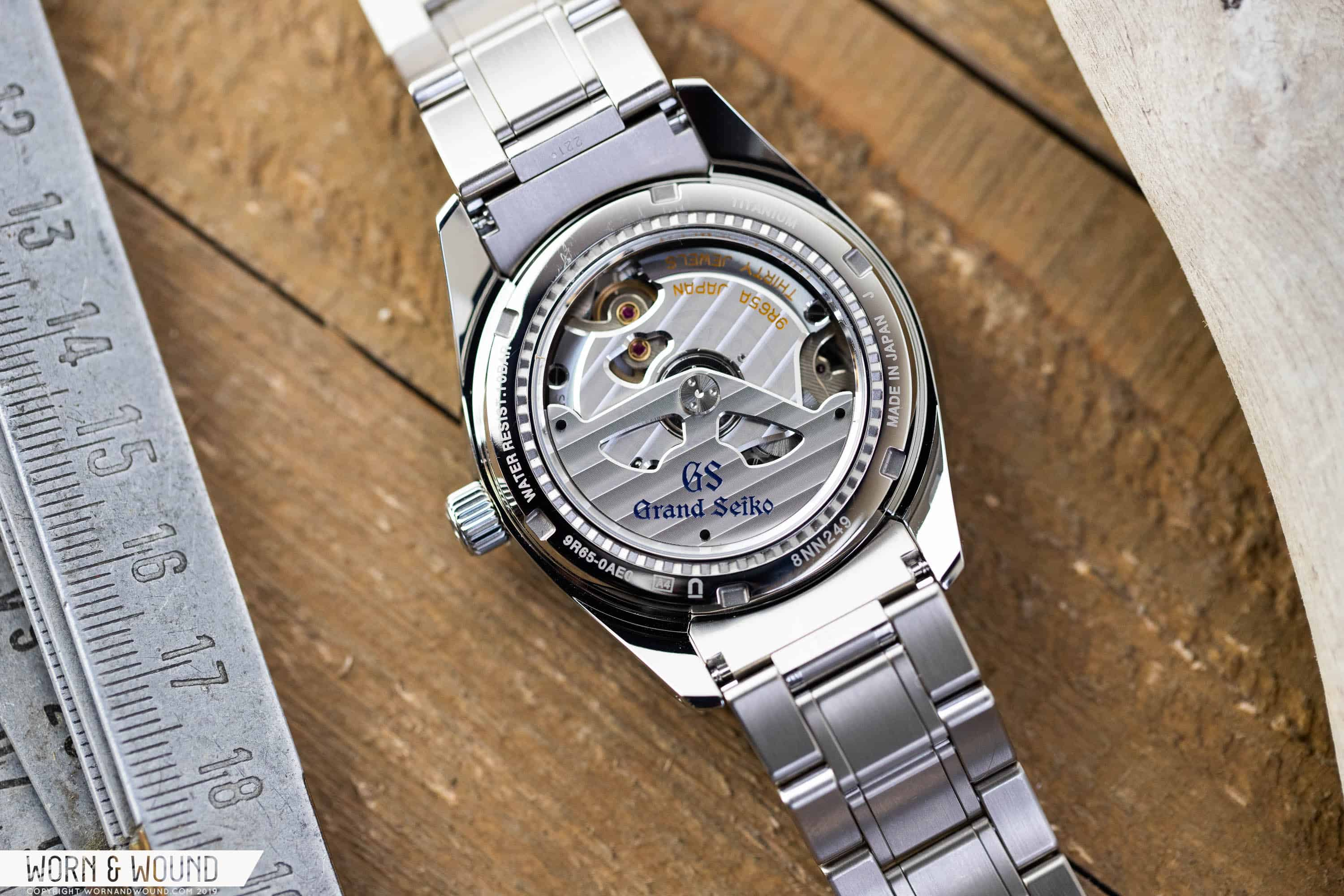A Look Inside Grand Seiko's 9R Spring Drive Movement