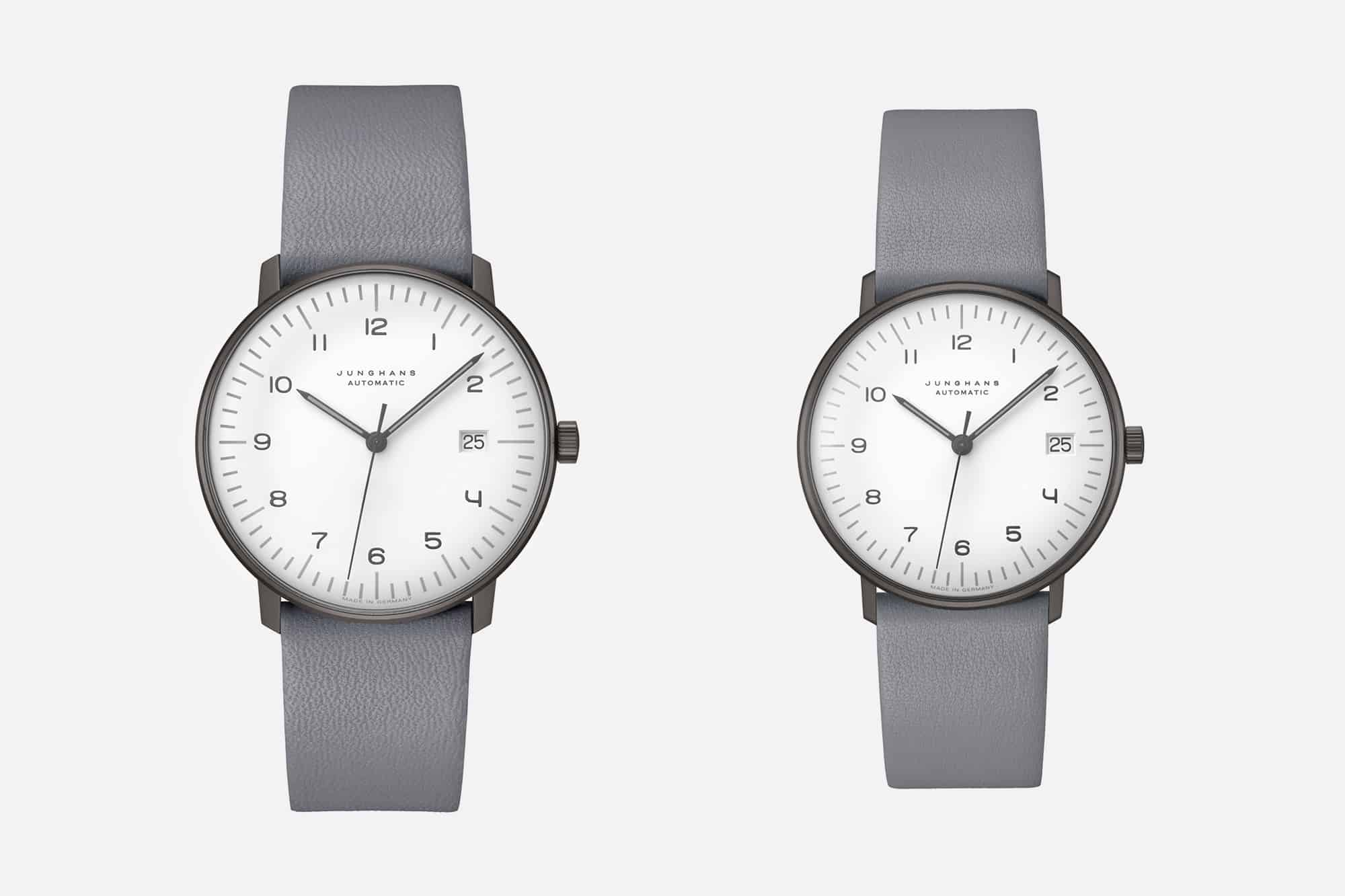 The Junghans Max Bill Line Gets the Monochromatic Treatment