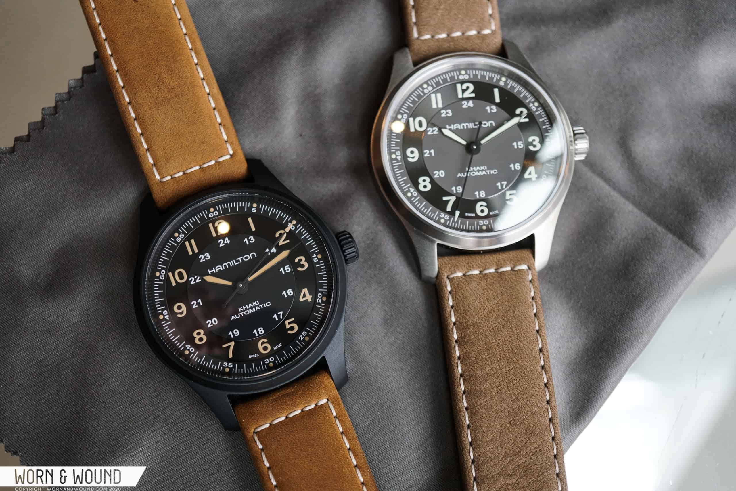 Hamilton's Latest Field Watch Mixes Old and New in Titanium