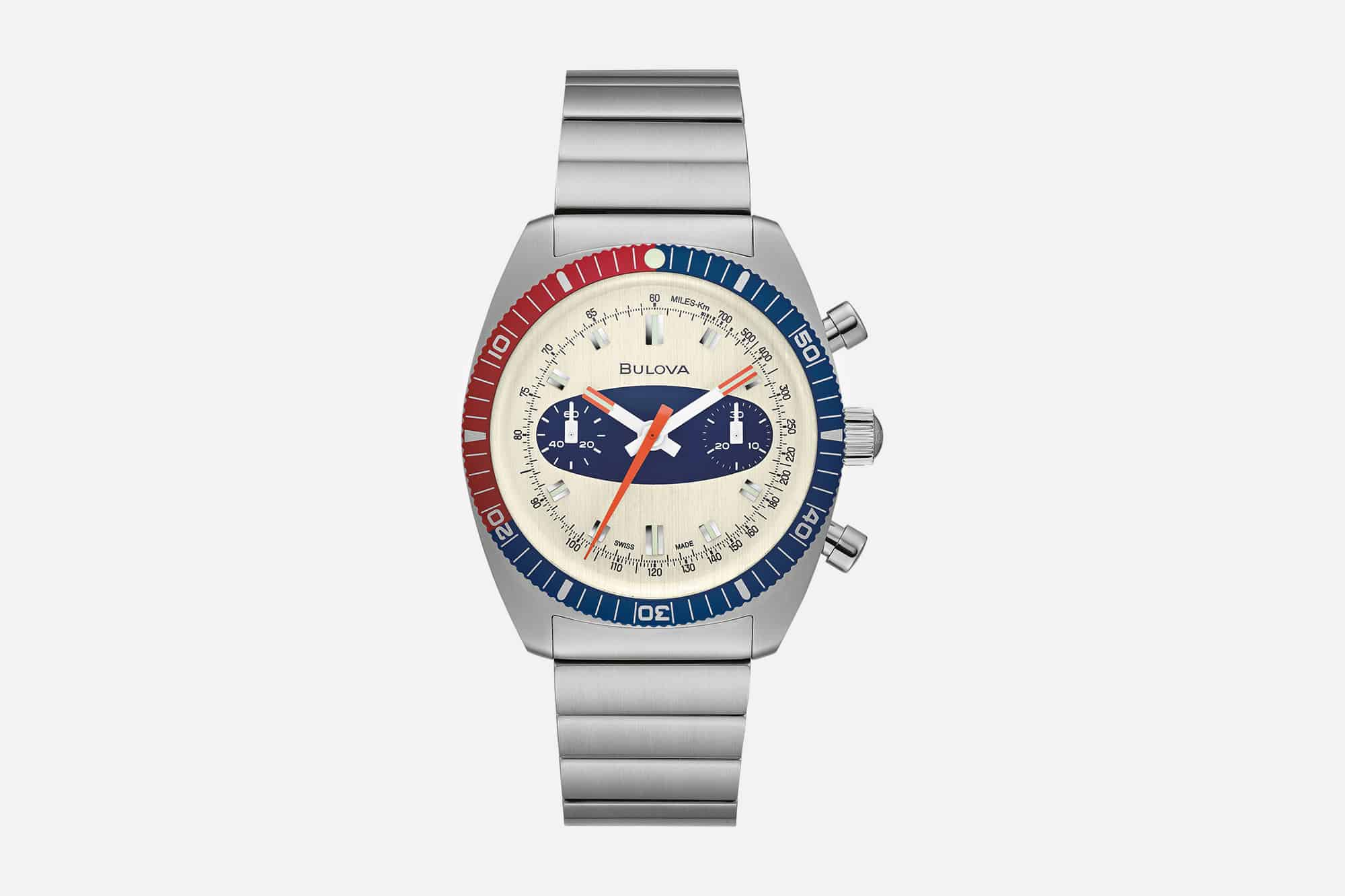 Bulova's Iconic Surfboard Chronograph Gets a Re-Issue at Multiple Price Points for Any Budget
