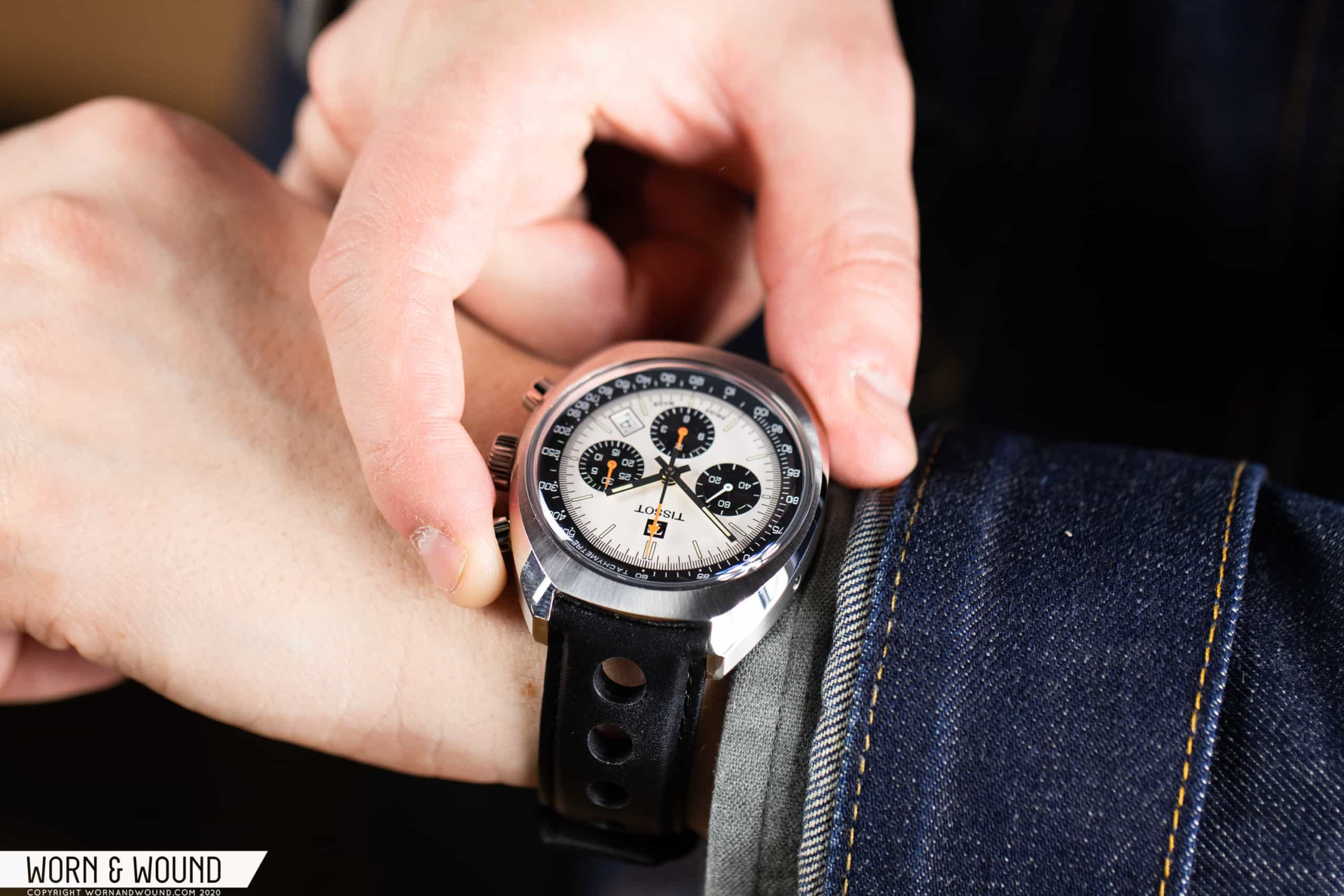Hands On: Tissot 1973 Heritage Chronograph