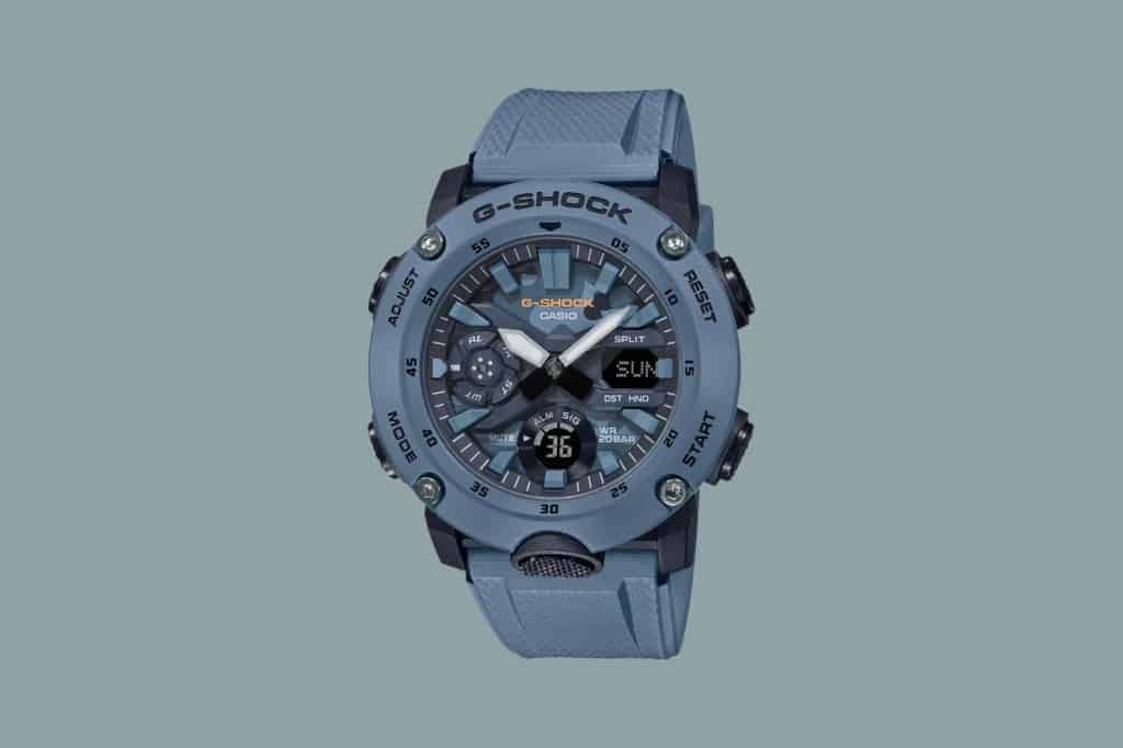 Casio's new G-Shock Street Utility Military and Move watches Blulecamo-1024x682