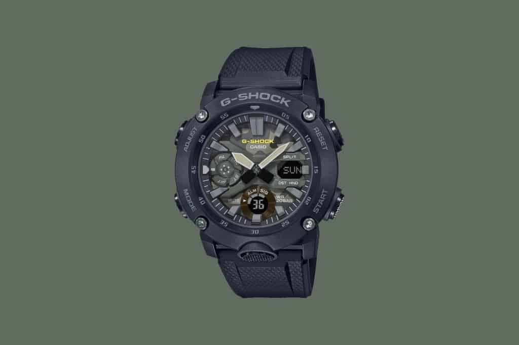 Casio's new G-Shock Street Utility Military and Move watches Green_camo-1024x682