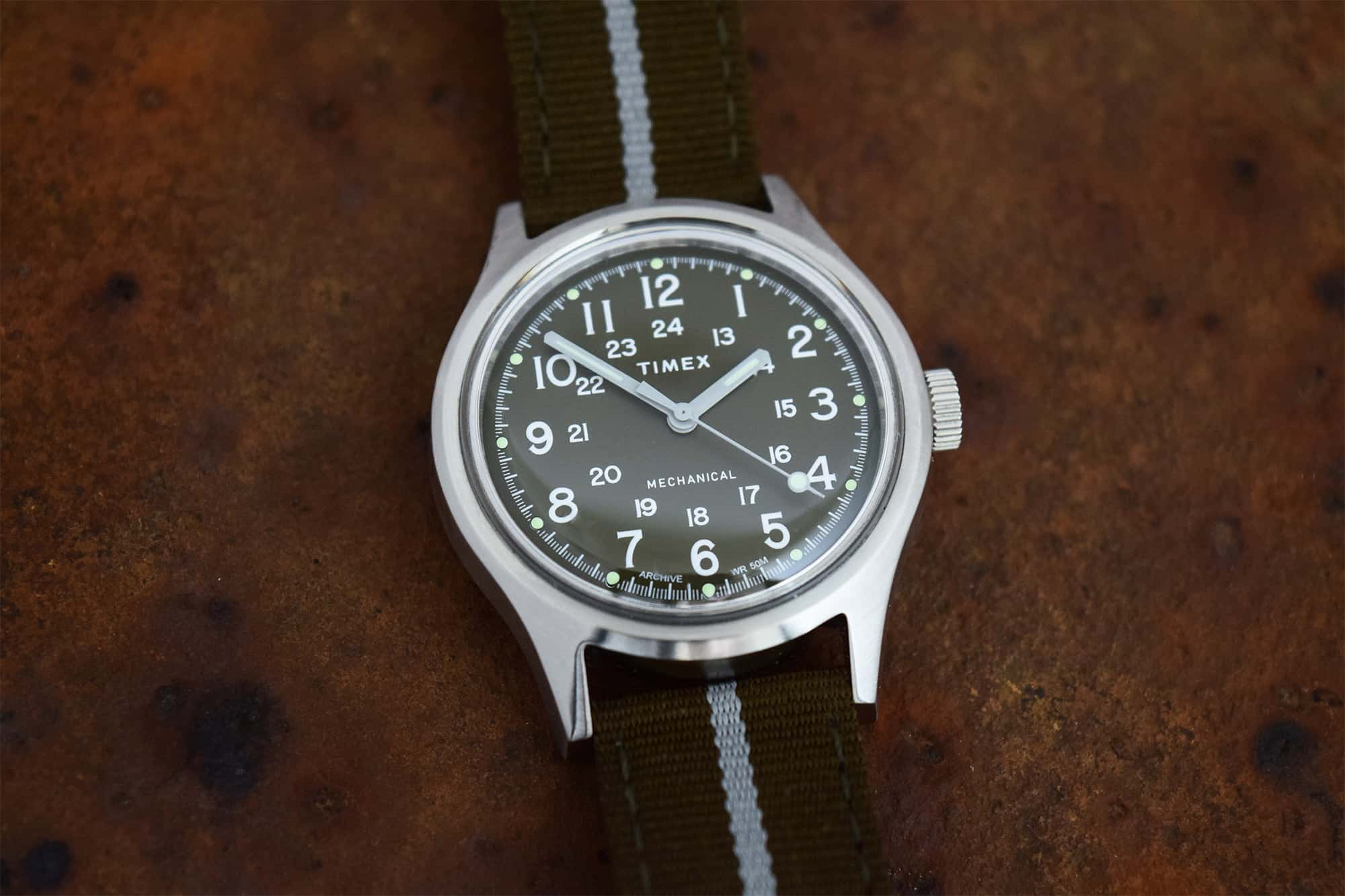 The Timex MK1 Mechanical is a Throwback That's Full of Charm