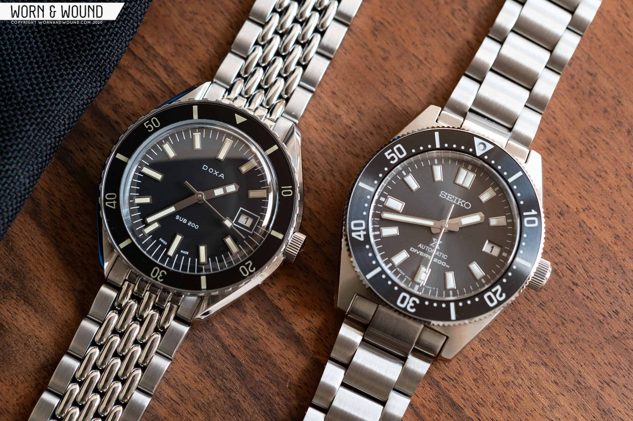 Battle of the $1,000 (ish) Divers: Seiko SPB143 vs. Doxa Sub 200