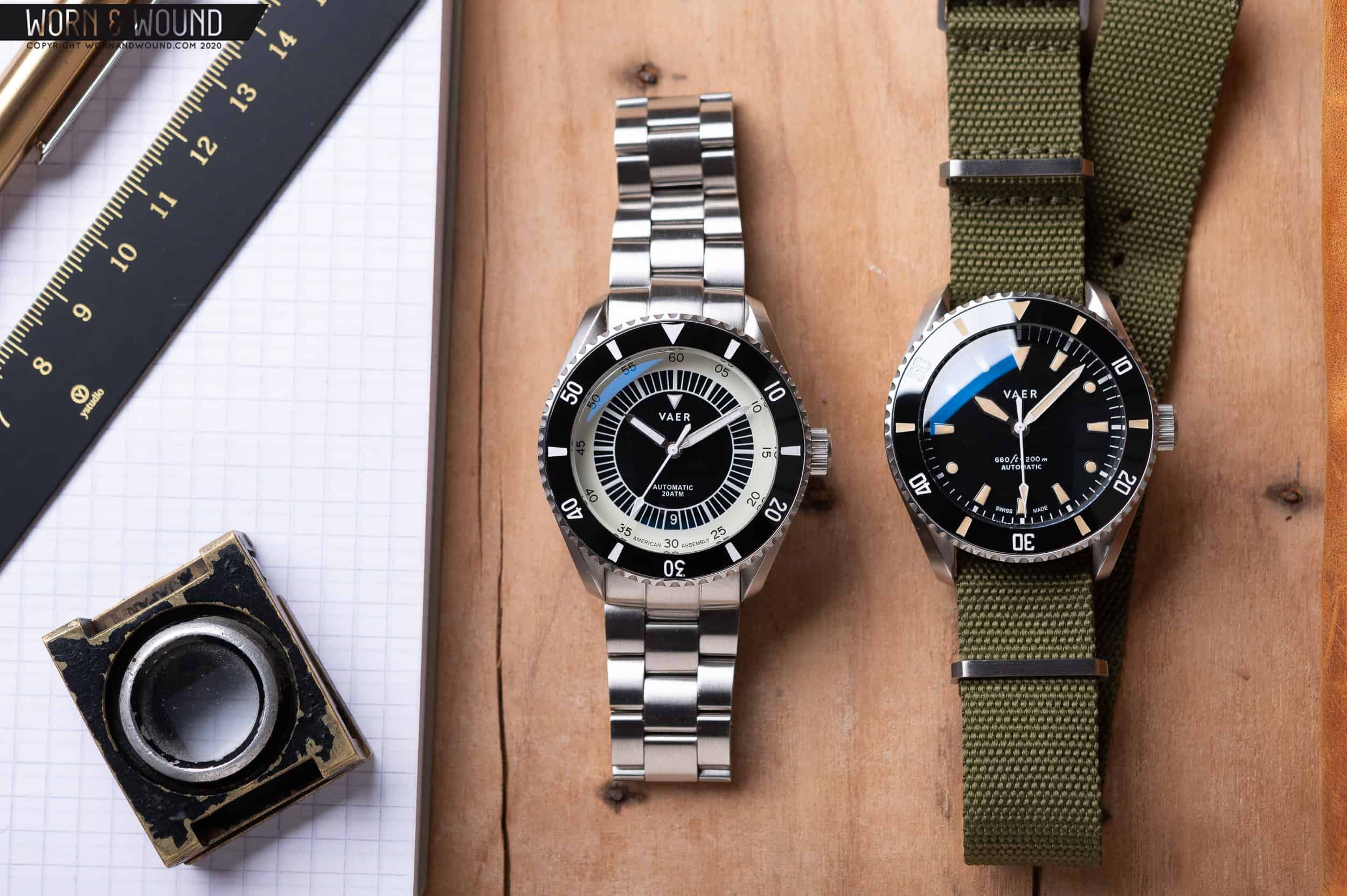 Hands On: VAER D Series Dive Watches