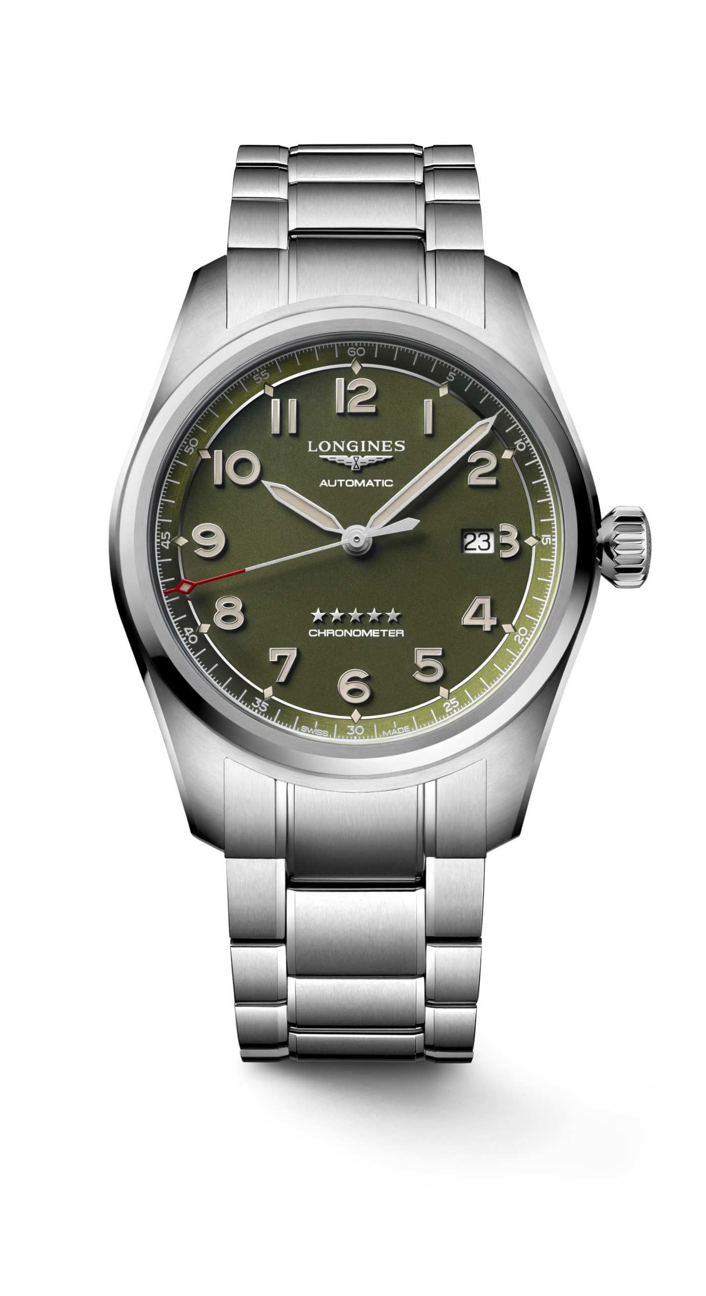 Introducing the Longines Spirit with Green Dial